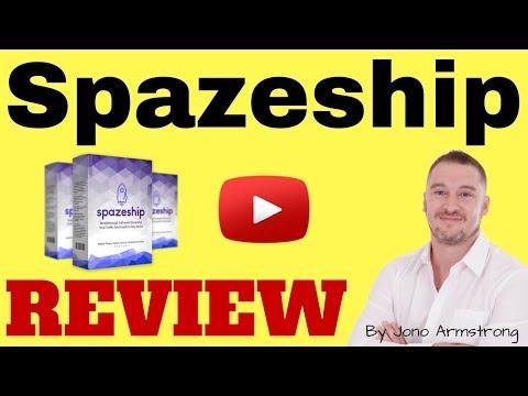 Spazeship Review - HUGE BONUS Package [spazeship demo video]