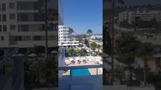 Кипр Айя Напа Отель Okeanos Вид с балкона