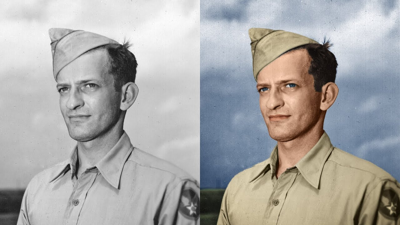 Coloring Black And White Photos