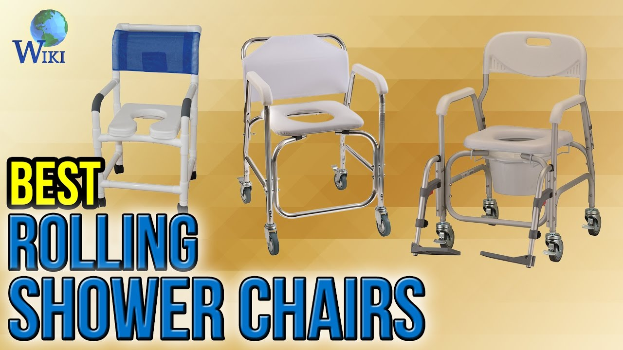 6 Best Rolling Shower Chairs 2017 - YouTube