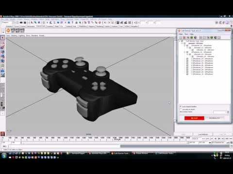 Vancouver 200903 002 Rigged Gamepad (craft director tools for maya max c4d)