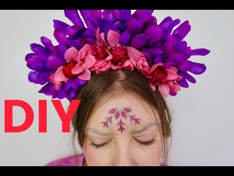 DIY: FLOWER CROWN - FESTIVAL EDITION
