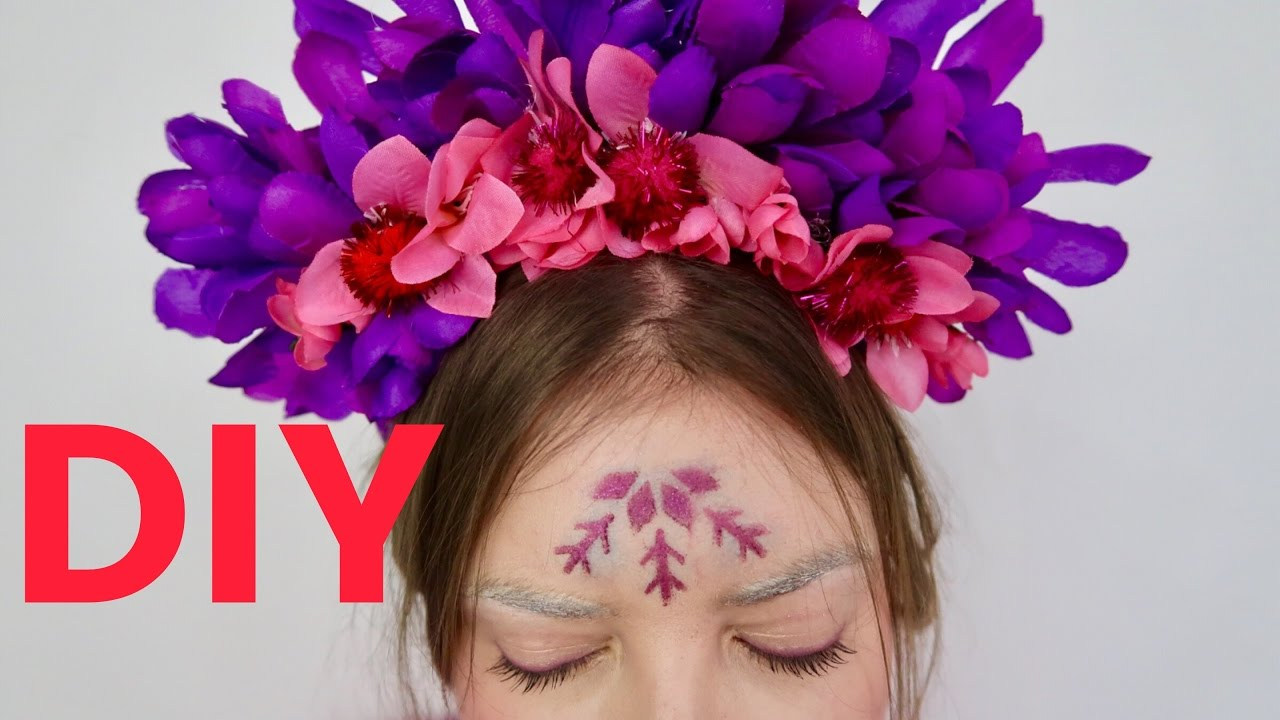 Diy flower crown festival edition youtube diy flower crown festival edition izmirmasajfo
