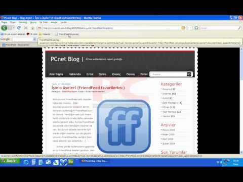 FriendFeed Bookmarklet