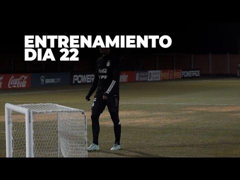 #SelecciónMayor Movimientos con pelota y trabajos regenerativos ya pensando en el duelo vs Bolivia.