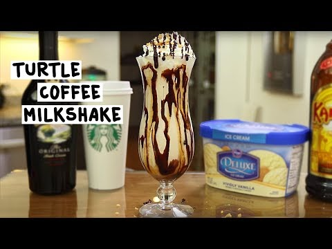 Turtle-Coffee-Milkshake