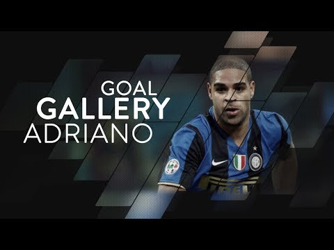 ADRIANO LEITE RIBEIRO | All of his 74 Inter goals 🇧🇷⚫️🔵