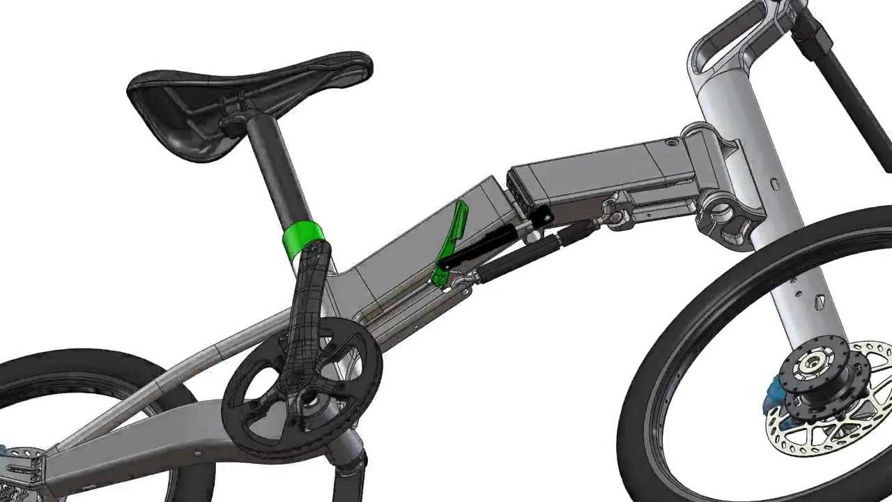 Pacific Cycles Ifmove Folding Bike Animation Youtube