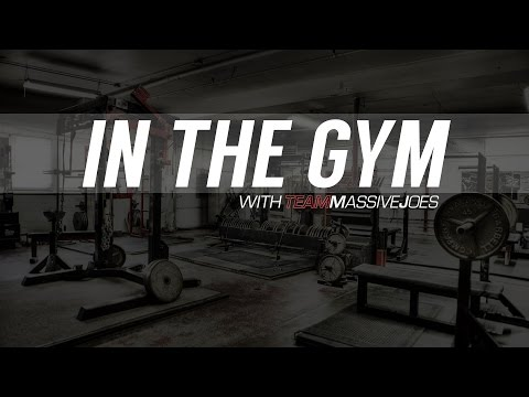 In The Gym With Team MassiveJoes & Mike Pearson - Shoulder Workout 7 Feb 2015 - ATF Blackwood TMJ