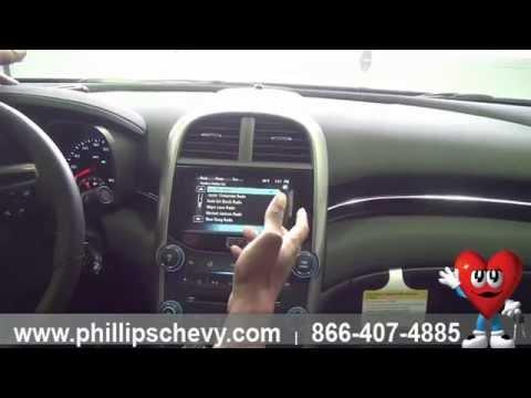 2014 Chevy Malibu - How to Use Pandora with MyLink Radio - Phillips Chevrolet - Chicago Dealership