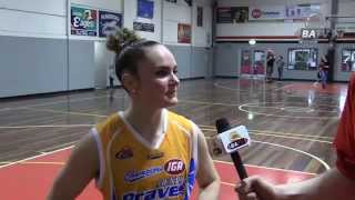 Week 1 Finals - Kelly Wilson & Elyse Penaluna (Bendigo Lady Braves)