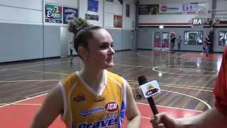 Week 1 Finals - Kelly Wilson & Elyse Penaluna (Bendigo Lady Braves)