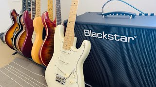 Squier Deluxe Stratocaster - Rock Sounds