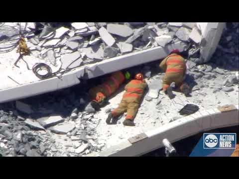 Bridge at Florida International University collapses, multiple people killed