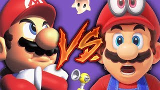 Super Mario Odyssey VS. All the 3D Marios - The Evolution of 3D Game Design