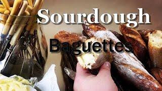Traditional Sourdough Baguette Recipe by a Professional Baker