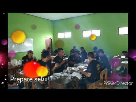 Pengamanan New Pallapa di desa Kutuk Undaan oleh Lindu Aji Kudus