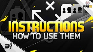 FIFA 16 ULTIMATE TEAM | HOW TO USE INSTRUCTIONS!