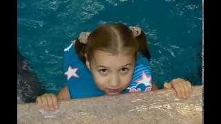 День Рождения с Дельфинами. Настя 7 лет.
