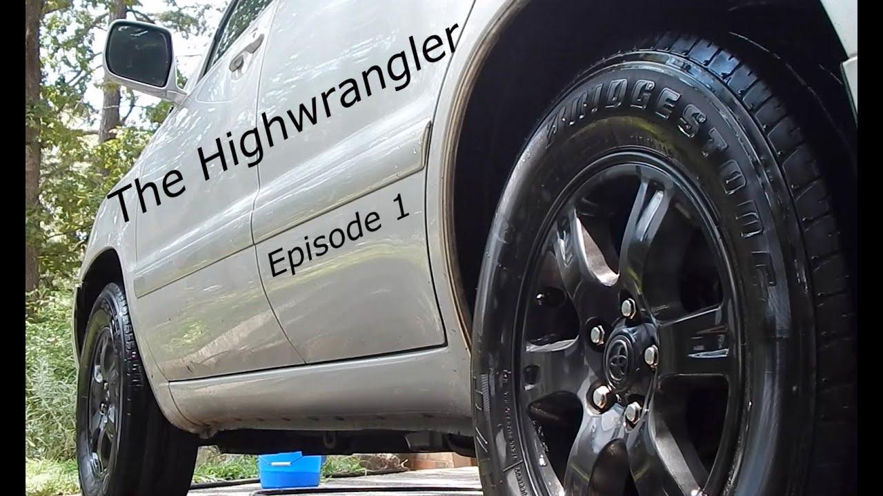 The Highwrangler Build Modified Highlander Episode 1 Legalization