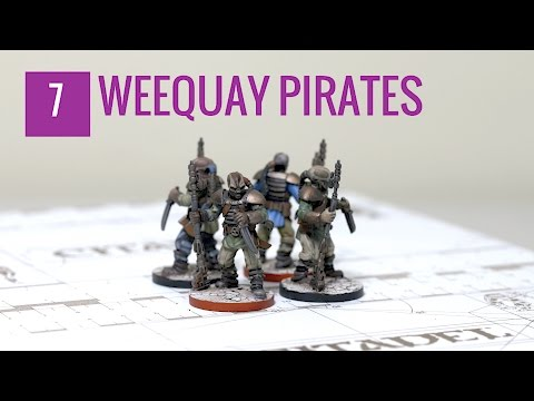 Star Wars Imperial Assault Painting Tutorial (Episode 7): Weequay Pirates