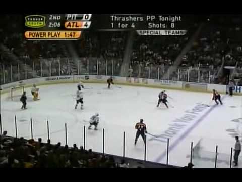 Kovalchuk Pointed at Crosby.