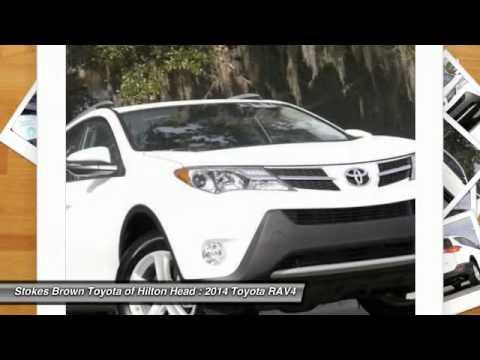 2014 Toyota RAV4 Bluffton SC 2525P. Stokes Brown ...