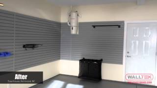 Town House, Before & After - Walltek Storage (garage And Storage Solutions)