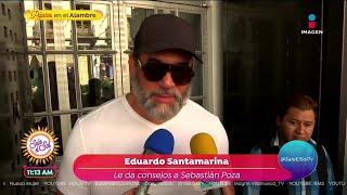 ¡A Eduardo Santamarina ya le d…