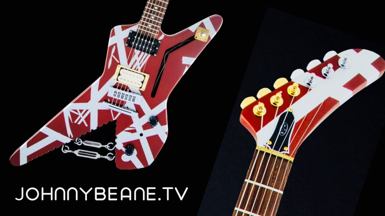 New Shark Guitar From Evh Gear Youtube