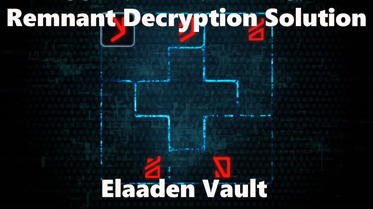 Mass Effect Andromeda Elaaden Vault Decryption Puzzle Solution Youtube
