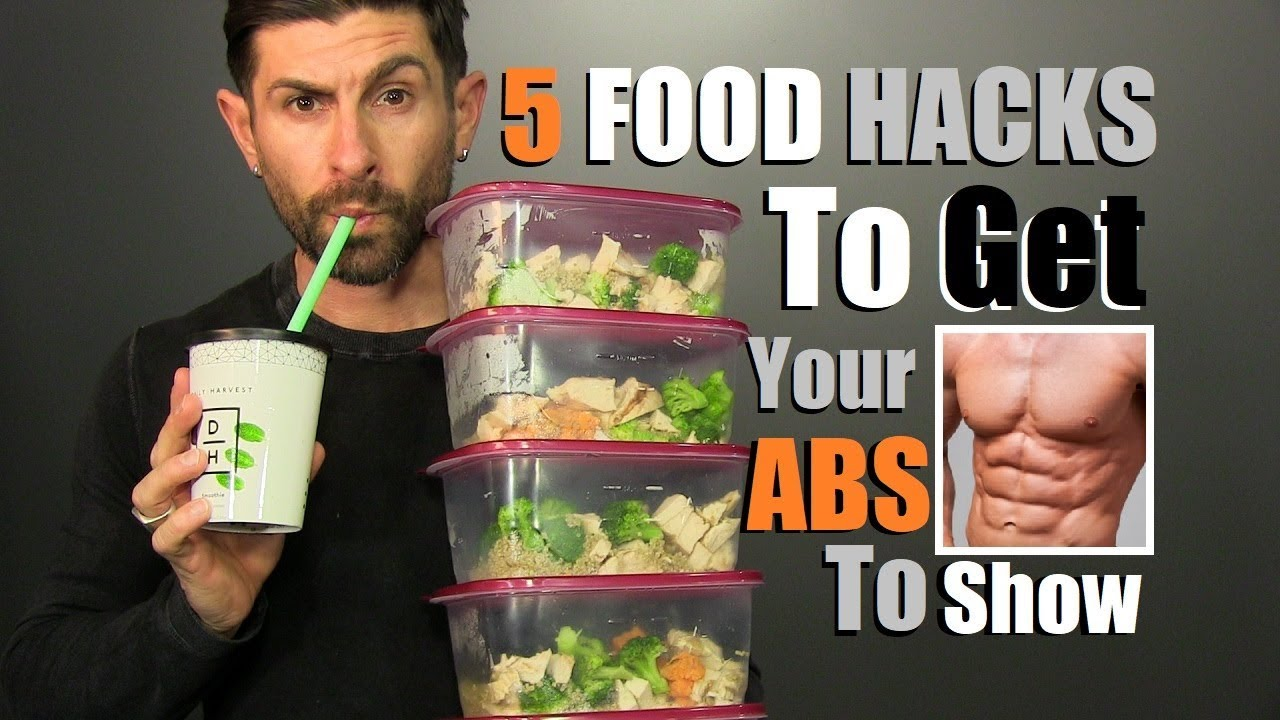 TOP 5 Food Hacks To Get Your ABS To Show (FAST)