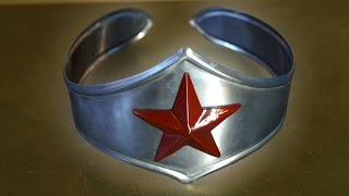 making a metal wonder woman tiara