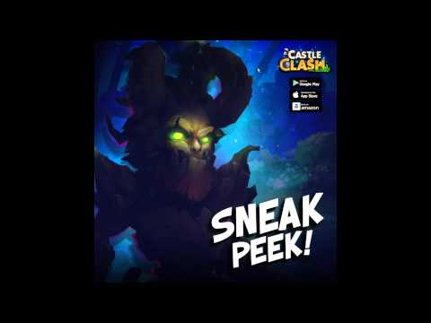Castle Clash New Hero Sneak Peek! Treantaur!