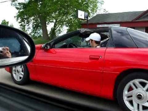 1999 Mustang Cobra vs 1999 Camaro Z28  YouTube