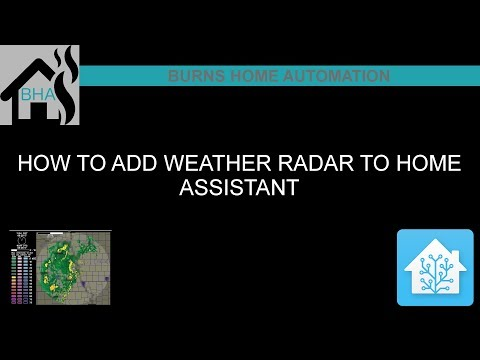How to add a Weather Radar to Home Assistant