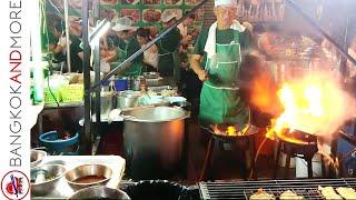 Bangkok's Chinatown Street Food Night Market