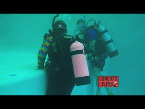 Phoenix Scuba can teach anyone to be a scuba diver