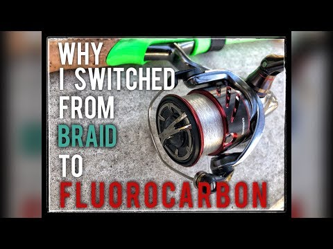 Why I Switched From BRAID To FLUORO // (Finesse & Spinning)