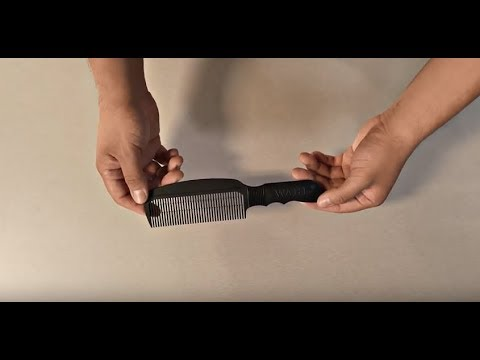 WAHL Flat Top Comb-Black