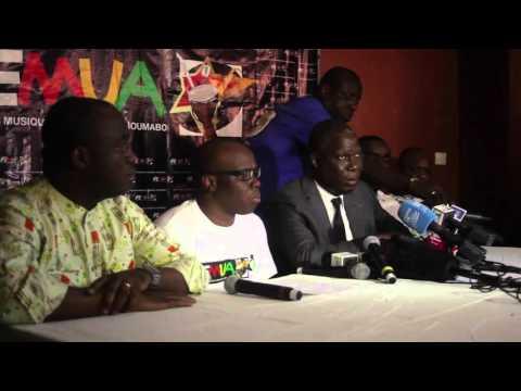Conférence de presse: Annonce du décès de Papa Wemba (African Moove)