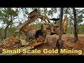 Palmer River, Small Scale Mining Australia