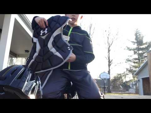 Under Armour Victory Baseball Catchers Gear - Unboxing