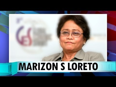 Marizon S Loreto, Regional Director, Trade and Industry, Region X1 (Philippines)
