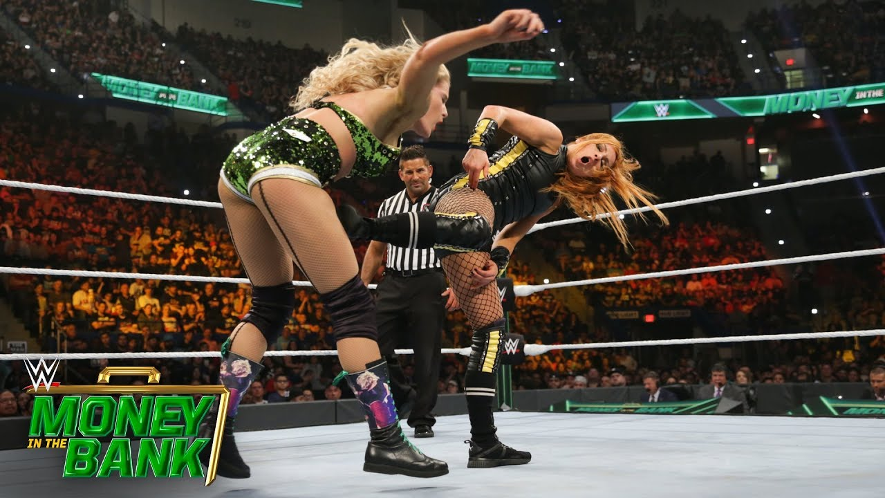 Becky Lynch loses her temper with Lacey Evans: WWE Money in the Bank 2019