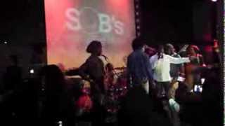 Chronixx and Barrington Levy Live in NYC