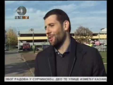 Aleksandar Sapic - Poznati Novobegradjani posadili 56 sadnica bresta