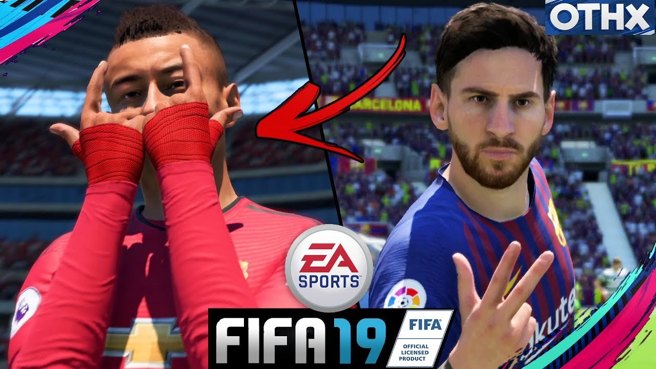 FIFA 19   Signature Celebrations part 2 ft  Lingard, Ronaldo, Messi    @Onnethox