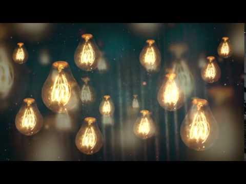 Moving Vintage Light Bulbs Background Motion Video Loops HD - Лучшие