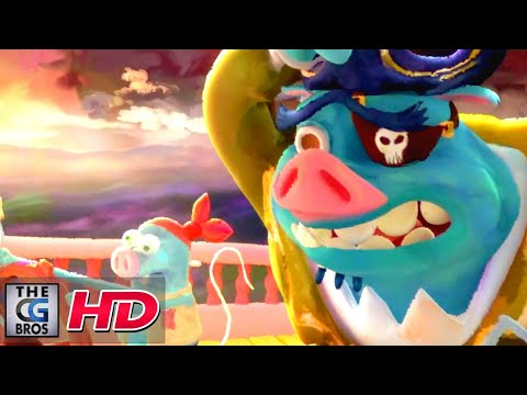 """CGI 3D Animated Trailers: """"Pirate Lesson"""" by SCAD 